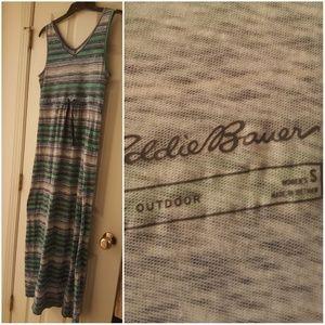Eddie Bauer green dress